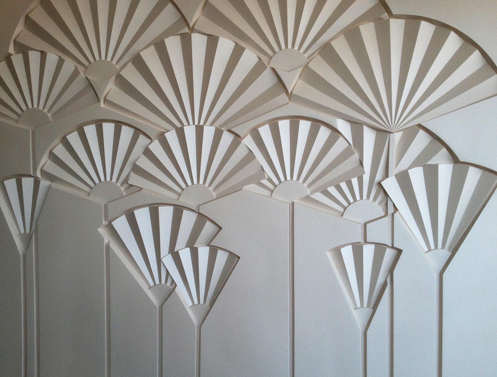 Декоративное  панно Одуванчики. Выполнено  Архитектурно производственной мастерской Елены Афти
